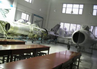 Aircraft in the lab