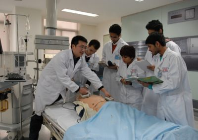 Foreign Students in Clinical Training