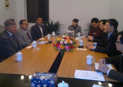 Visit Of Delegations From Nepal