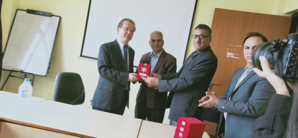 A Visit Of Delegations From Nepal At Sinchuan University